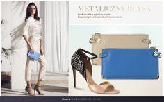Odkryj najnowsze trendy na www.kazar.com #kazar #trendy #new #look #summer #sprig #wiosna #lato #moda #fashion #styl #buty #shoes #szpilki #torba #bag #metal #gold #silver