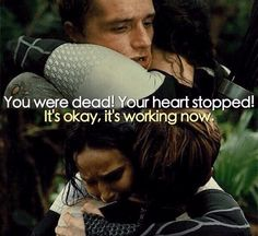 Everlark Feels! These two have been through so much and it makes me mushy inside whenever they have their moments!