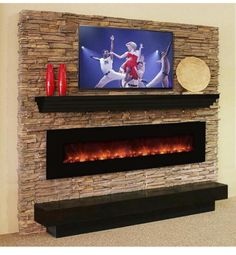Electric Fireplace Design Ideas image of wall mount electric fireplace tips fireplace stonefireplace designfireplace ideasbuilt Find This Pin And More On Home Design