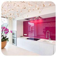 19 best Crédence en verre Design ! images on Pinterest | Decorating ...