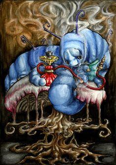 Alice in Wonderland Caterpillar by *Corviid
