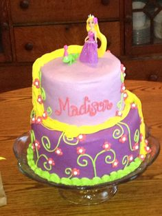 tangled cake - Google Search