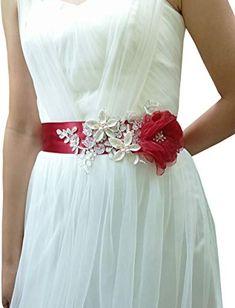 Crystal Wedding Dresses, Wedding Gowns, Organza Flowers, Fabric Flowers, Wedding Sash Belt, Applique Wedding Dress, Sash Belts, Pink Beige, Appliques