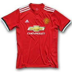 Manchester United HomeFootball Shirt 17/18 This is the new Manchester United Home Football Shirt 17/18. Manchester United signed a world-record kit deal in 2014 which came into effect with the start of the previous season. After the first Manchester United home kit boasted a classic design, the new Manchester United 2017-18 home jersey is more […]