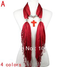 Aliexpress.com : Buy cross jewelry pendant scarf,4 colors available,NL 2077  from Reliable cross jewelry pendant scarf suppliers on Well Done Fashion Jewelry Co.,Ltd. $9.99