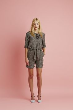 Ingrid Starnes SS15 // Rosie Top. Bunting Shorts.