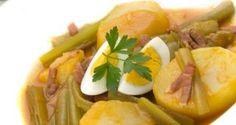 Receta de Guiso de borraja con patatas