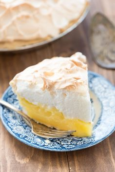 Aunt Tootsie's Lemon Meringue Pie - this recipe is from my great aunt and it is a family favorite! The lemon is sweet and tart and the pie is perfect lemon lovers!