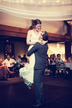 A lift during the first dance. <3 Photo by Chris K. #WeddingDanceLessons
