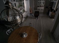 Love the interior featured on this season of American Horror Story: Coven. American Horror Coven, American Horror Story Seasons, Glass Front Cabinets, Interior Architecture, Interior Design, Witch Decor, Witch House, Kitchen Pendants, Inspired Homes