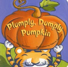 Super fun Halloween/pumpkin harvest book to read.. little learners will love the rhythm of the lyrics and the cute pictures! ..5 Pumpkin Books for Your Story Patch