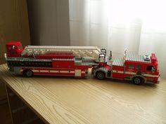 LAFD Tiller truck | Flickr - Photo Sharing!