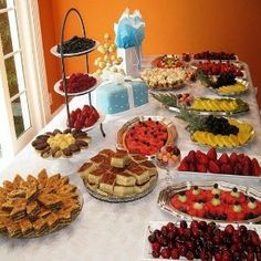 Food For Bridal Shower Ideas