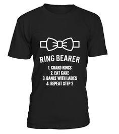 Kids Ring Bearer T shirt Boys Wedding Shirt