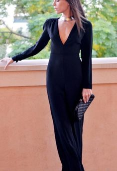 Jumpsuits Show Class And Elegance! God I use to love wearing jumpsuits! When your tall  with long legs and a small waist they look GREAT on you! Im so glad they are back in style!