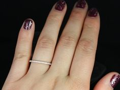 14kt Matching Band to Tabitha by RosadosBox on Etsy