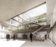 """GPY Arquitectos    New Headquarters of the daily newspaper """"die Taz"""""""