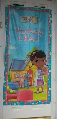 Charlottes doc mcstuffins party is here