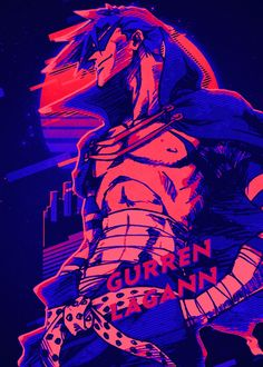 Gurren Lagann RetroYou can find Gurren lagann and more on our website. Gurren Lagann Kamina, Anime Manga, Anime Art, Gurren Laggan, Copic Drawings, Transformers, Anime Scenery Wallpaper, Madara Uchiha, Anime Comics