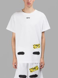 1b7fd85da9cf Real Off White Brand Tee and Short With the Off white Tags Men Women  Religious Jesus Virgil Abloh T-shirt and Short Set