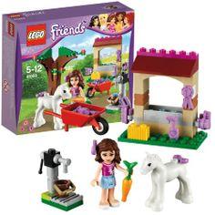 LEGO 41003 Friends: Olivias Fohlen  http://www.meinspielzeug24.de/lego-41003-friends-olivias-fohlen  #LegoFriends, #Mädchen #BaukastenSpielsets, #Spielwaren