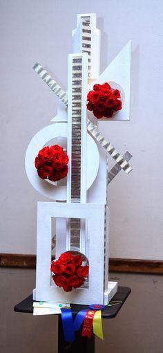 Arreglos Florales Creativos: Diseño Construcción
