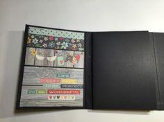 "Part 3 of start to finish ""Folio Style Mini Album"" -- scrapbooking mini ..."