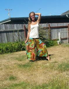 COLoRful icE dyED tie dye skiRT gYPsy BOHo skiRt hiPPie skirt for festival or dance, beach walk yoga band bright colorful skirt  by LunabeanShoppe