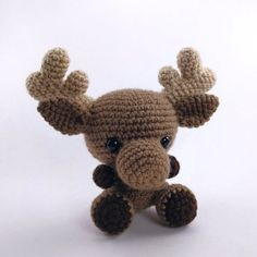 PATTERN: Crochet moose pattern amigurumi par TheresasCrochetShop