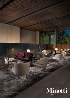 Aston Sofa Rodolfo Dordoni Design hospitality aston