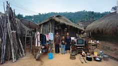 Fu Naguo's family grows rice and sugar cane in Echa village, Dongfang city in Hainan Province.   There only source of income is from selling wild berries they pick from the mountainside, making about 600 yuan ($96) per year.