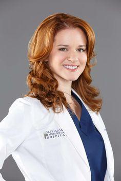 April Kepner hair color