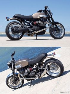 Revealed: The motorcycle that could have been the 'new' Moto Guzzi V7, built by Officine Rosspuro and featuring the 935cc motor from the Bellagio. by gayle