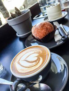 Flat white coffee at Pardon in Prahran Flat White Coffee, I Love Coffee, White Flats, Barista, Java, Diabetes, Latte, Caramel, Food And Drink