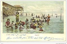 VENETO - LIDO di VENEZIA - Bagnanti - 1903