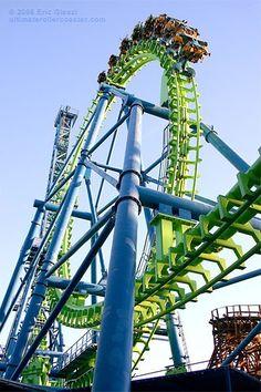 Roller coasters!! woooohooo!
