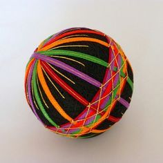 Image result for how to make a temari ball tutorial
