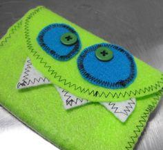 Monster Journal  Etsy.com sold, but I love it's face  #SEWGood