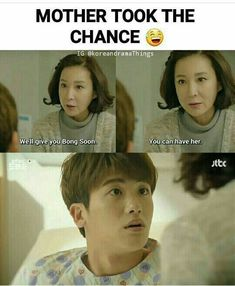 from strong woman do bong soon, such a funny kdrama! Korean Drama Funny, Korean Drama Quotes, Korean Drama Movies, Korean Actors, Korean Dramas, Kdrama Memes, Funny Kpop Memes, Strong Girls, Strong Women