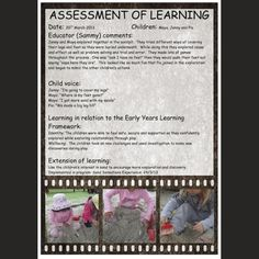 learning story example for babies Eylf Learning Outcomes, Inquiry Based Learning, Early Learning, Early Education, Early Childhood Education, Learning Stories Examples, Planning Cycle, Early Childhood Program, Family Day Care
