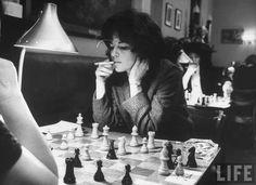 LIFE: US Women's Chess Champion Lisa Lane