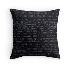 """""""F88"""" Throw Pillows by Oliver Sin"""