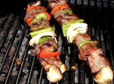 Korean Beef Kabobs