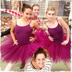 Dena Kaplan (Abigail Armstrong) and Isabel Durant (Grace Whitney)- Dance Academy