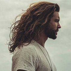 Long hairstyles for men can oftentimes be difficult to cut, style and pull off, but if you're one of those guys with long hair who can rock the look, then these cool styles are perfect for you! Long haircuts for men include a variety of styles such as the Best Hairstyles For Older Men, Haircuts For Long Hair, Long Hair Cuts, Cool Haircuts, Hairstyles Haircuts, Cool Hairstyles, Hipster Haircuts, Long Wavy Hairstyles Men, Long Hair With Beard
