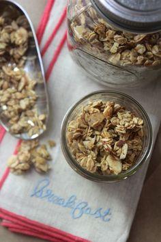 Vanilla Almond Granola #glutenfree