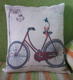 Inspirational Happiness is my Bicycle art, designed by Jean Plout. Vintage metal image with vintage bike with parrot and a sweet verse. News Print bac. Posters Vintage, Retro Poster, Vintage Prints, Pub Vintage, Vintage Iron, Moda Vintage, Collages D'images, Art Carte, Bike Poster
