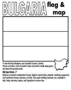 Turkish Flag Coloring Page Beautiful Bulgaria Coloring Page Batman Coloring Pages, Summer Coloring Pages, Dragon Coloring Page, Flag Coloring Pages, Adult Coloring Pages, Bulgaria, Best Flags, Flag Colors, Early Education