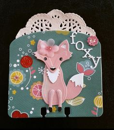 Foxy Lady card by Terri Panone