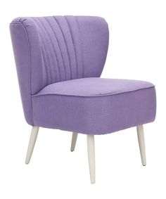 Lavender Mallory Accent Chair | zulily